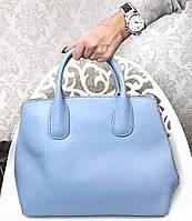 06600e8a30fc Сумка в стиле Диор материал натуральна кожа, размер 36/25 см, цвет голубой