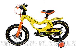 """Детский велосипед Hollicy 16"""" (желтый)"""