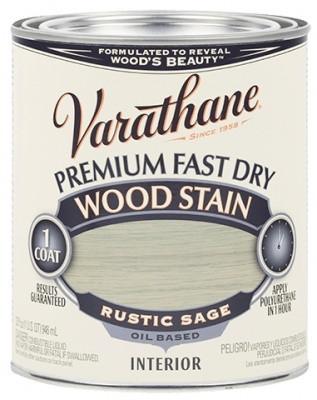 Масляная морилка для дерева, Wood Stain, Rustic Sage (шалфей), 0.946 litre, Varathane