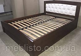 Ліжко Верона зашита вільха 1.6 на 2м