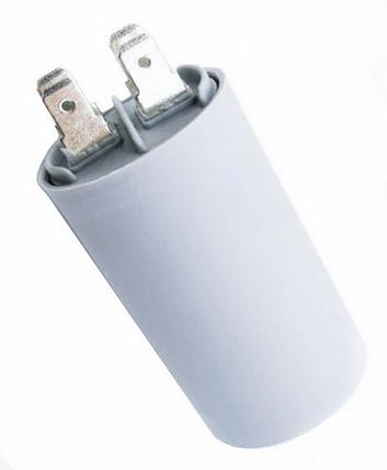Конденсатор CBB-60 H 12mkf 450VAC с клеммными выводами, фото 2