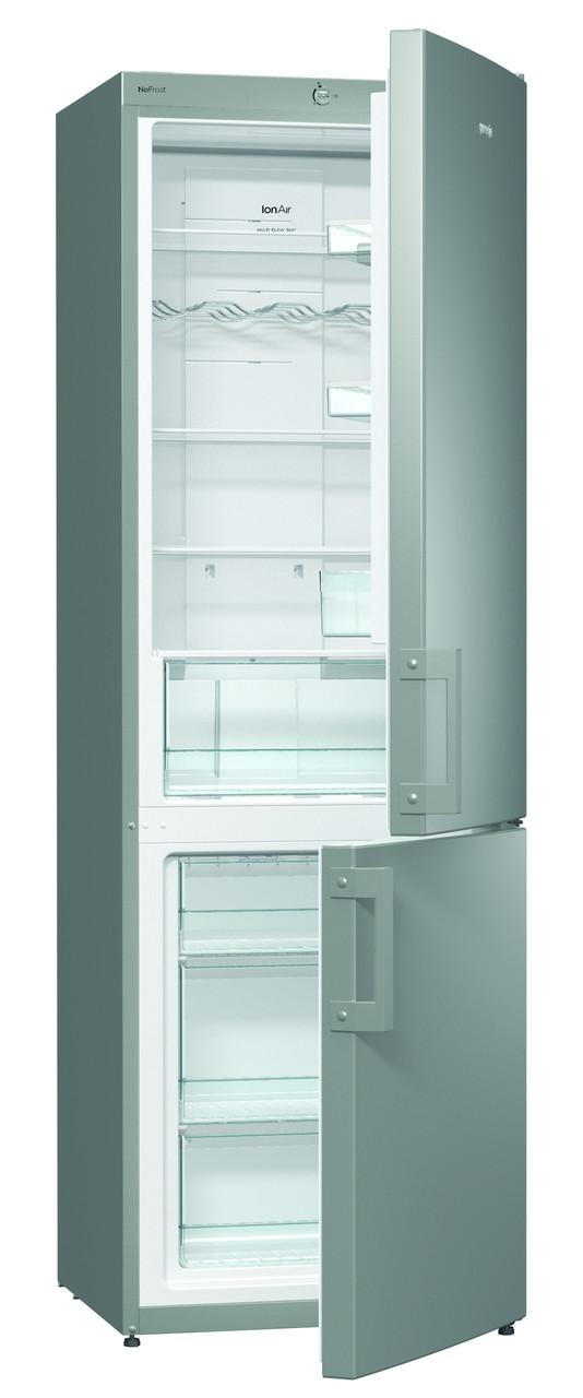 Двухкамерный холодильник Gorenje NRK6191CX