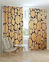 Фотошторы абстракция текстура дерева