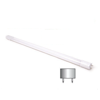 Светодиодная LED лампа, Т8, 18W, 1200мм, 4000K, нейтральный свет, цоколь-G13, стекло, 2 года гарантии!!