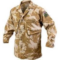 Китель, рубашка армии Великобританнии в расцветке DDPM (Desert DP), оригинал, новый и б/у
