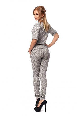 Стильный дизайнерский костюм - кофта с брюками, фото 2