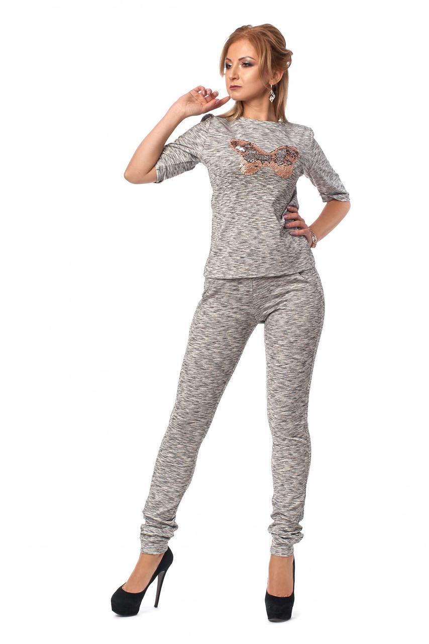 Стильный дизайнерский костюм - кофта с брюками