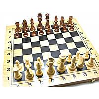 Нарды+шахматы+шашки из бамбука (49х49х2,5 см) (26011)