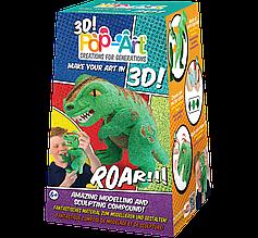Набір для 3D ліплення Pop-Art Динозавр