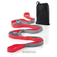 Ремень для растяжки Sport2People Yoga Strap (12 петель)