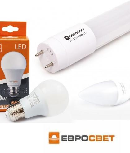 Світлодіодні led лампи Евросвет