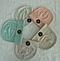 Шапка трикотажная для девочек 3-10 лет, разные цвета, фото 2