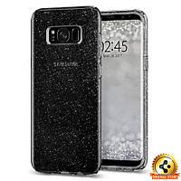 Чехол Spigen для Samsung S8 Plus Liquid Crystal Glitter, Space Quartz, фото 1