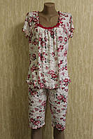 Женская пижама с рукавом большого размера бамбук Турция