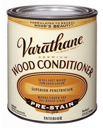 Грунтувальний масло, для морилки, Wood Conditioner, 0.946 літровий, Varathane