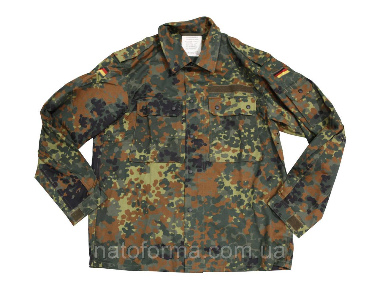 Китель, рубашка Flecktarn, армии Германии, оригинал