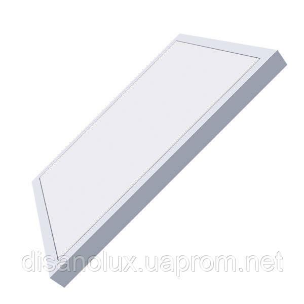 Светодиодный  светильник накладной  LED Panel 36W  595x595x50мм 6500К