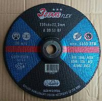 """Абразивный шлифовальный круг, зачистной диск 3stars  230x6x22 Словения  """"Swatycomet"""", фото 1"""