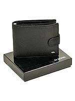 Брендовый мужской кожаный кошелек Dr.Bond