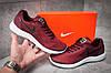 Кроссовки мужские Nike  Free Run, бордовые (12281) размеры в наличии ► [  42 (последняя пара)  ], фото 8