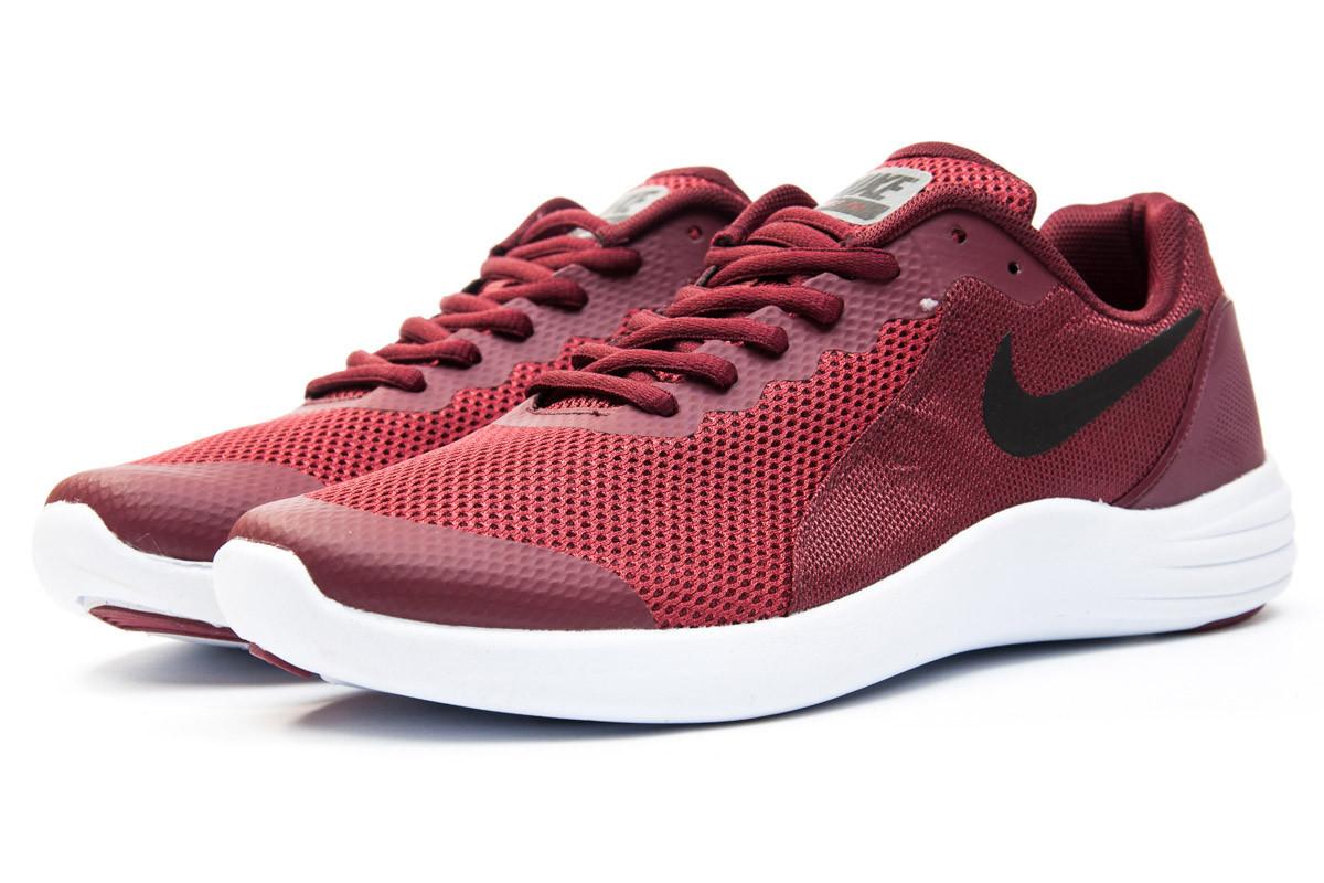 Кроссовки мужские Nike  Free Run, бордовые (12281) размеры в наличии ► [  42 (последняя пара)  ]
