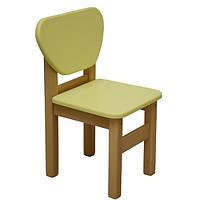Детский стульчик Верес желтый