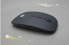 Беспроводная оптическая мышь USB apple (черная)