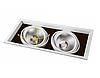 Карданный светодиодный светильник AL212 2x30W Feron