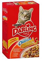 Сухой корм для кошек Darling (Дарлинг) с птицей и овощами 400 г-снят с производства