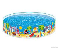 Детский Каркасный Бассейн Intex  58457 «Пляжные друзья» Ps