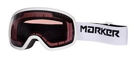 Маска лыжная Marker Surround Mirror White