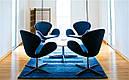 Дизайнерское мягкое кресло СВ, розовое , фото 4
