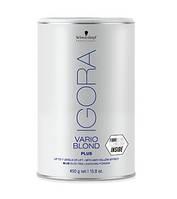 IGORA Vario Blond Plus / Беспылевой порошок, осветление до 7 уровней (голубой), 450 g