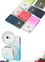 Чехол для iPhone 5/5S, синий и фиолетовый в наличии