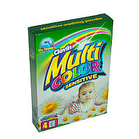 Стиральный порошок для детского белья MULTICOLOR SENSITIVE 400 г к/к