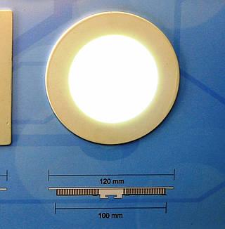 Светодиодный врезной светильник Bellson круг (6 Вт, 120 мм)