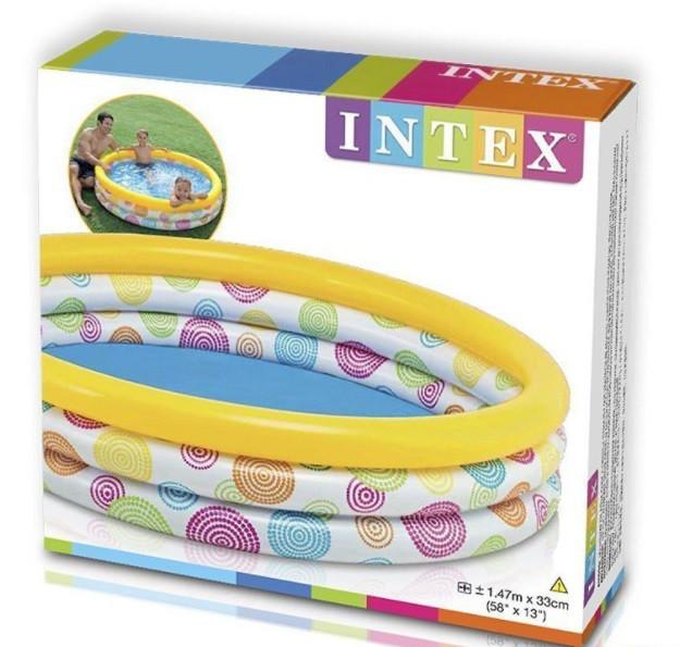 """Детский бассейн Intex 58439 """"Геометрия"""""""