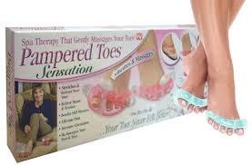 Масажер для пальців ніг Pampered Toes Sensation