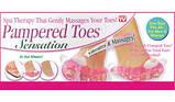Масажер для пальців ніг Pampered Toes Sensation, фото 4