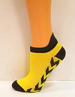 Яркие низкие детские носки с рисунком