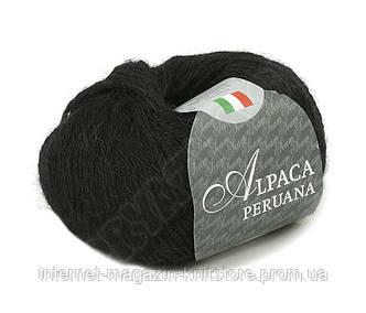 Пряжа Сеам Alpaca Peruana Черный