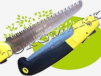 Ножовка складная садовая 3D заточка полотно 180мм