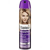 Немецкий лак для волос Balea Volumen - Effect 4 300 мл