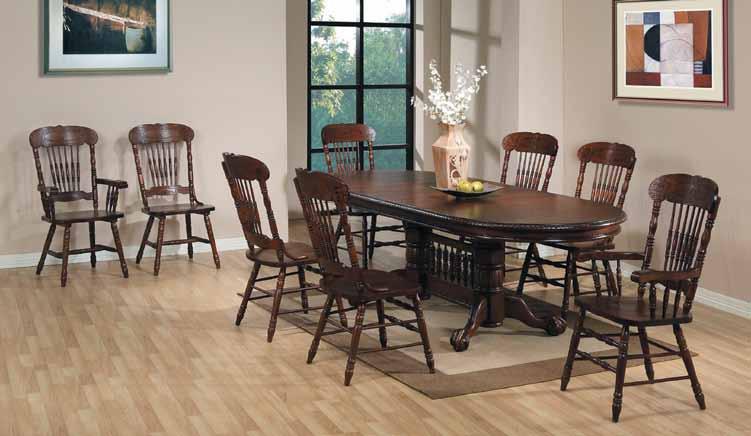 Купите стол 4296 в цвете темный орех, получите в подарок два стула 312-2!!!