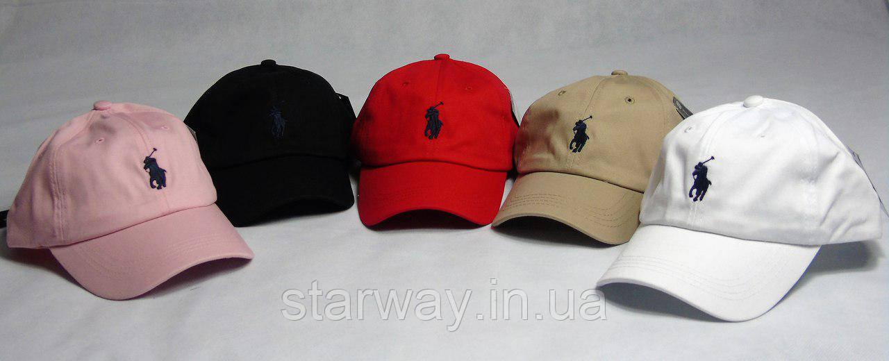 Стильная кепка поло логотип вышит