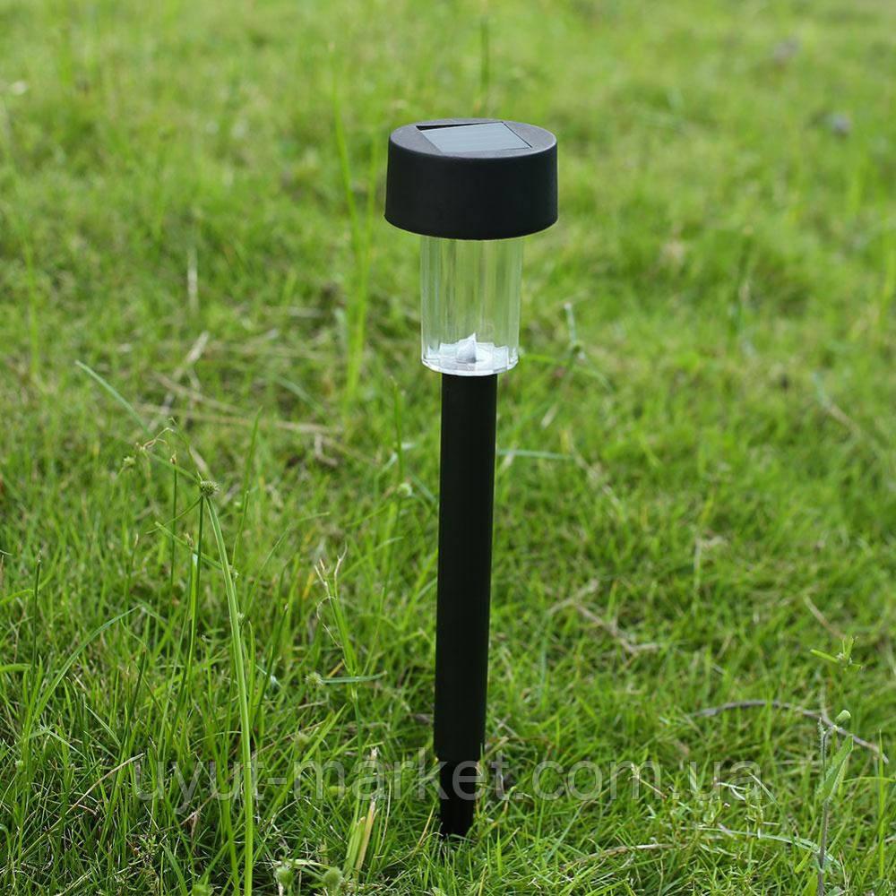 Садовый светильник на солнечной батарее, CAB114 пластик, фото 1