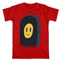 Футболка Пошлая Молли красная с логотипом, унисекс (мужская, женская, детская)