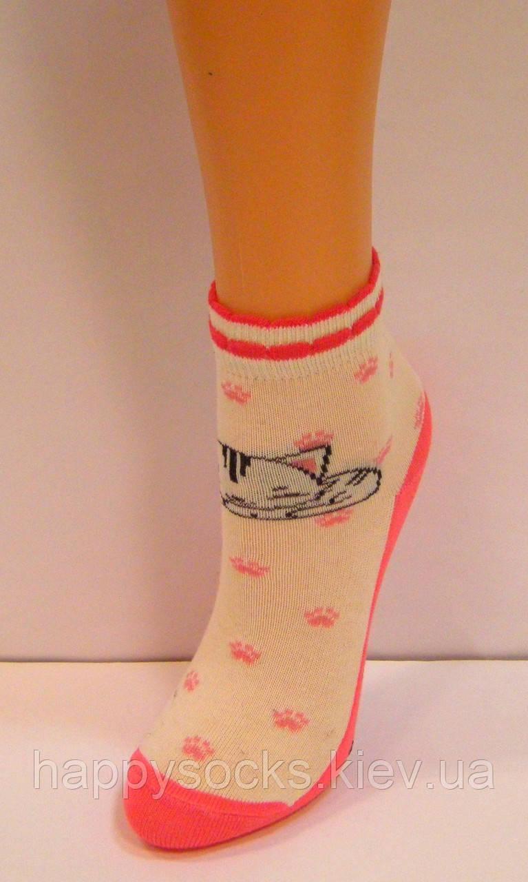 Цветные детские носки с ярким рисунком