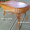 Стол кухонный плетеный ручной работы