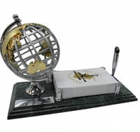 """Настольный набор руководителя """"Глобус"""" на мраморной подставке 9128"""